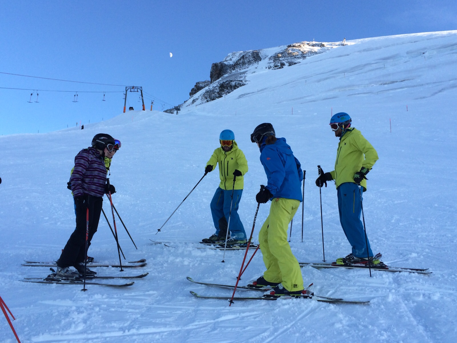 Erwachsenen Ski-Snowboardkurse
